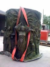 Monument commemorating Iran Iraq war, before work